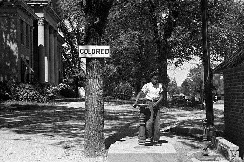 расовая сегрегация в сша